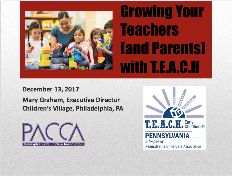 Resources Pennsylvania Child Care Association